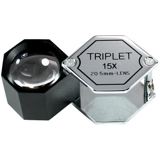 Polygon Magnifier Triplet 15x -20.5mm