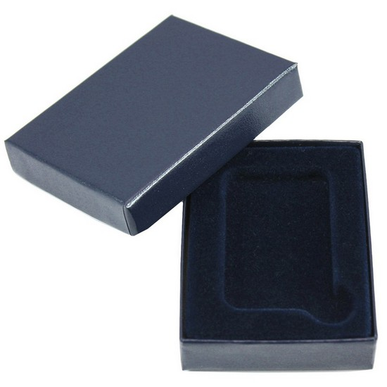 Blue Laminated Cardboard Box for 1oz Bar