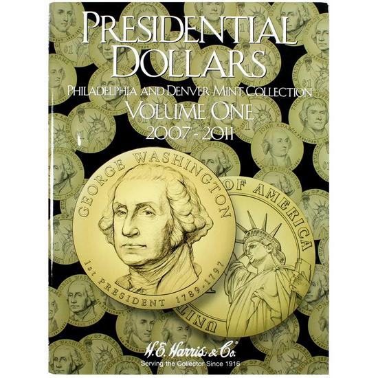 Harris 2007-2011 Presidential Dollars P and D Mints No. 1 Folder