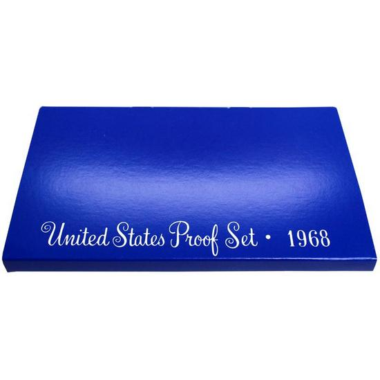 1968 OGP Box for United States Proof Set