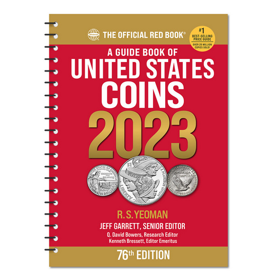 2018 The Official Red Book Guide of U.S. Coins Spiral Bound
