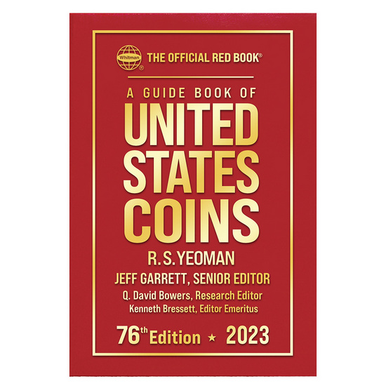 2017 The Official Red Book Guide of U.S. Coins Hard Cover