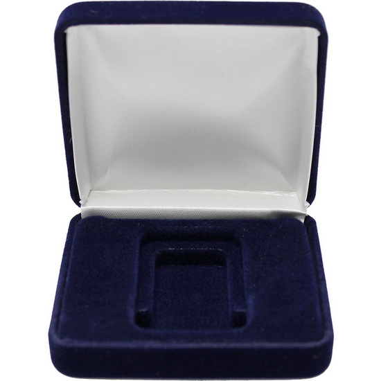 Dark Blue Clamshell Gift Box For 1oz Bars Silvertowne