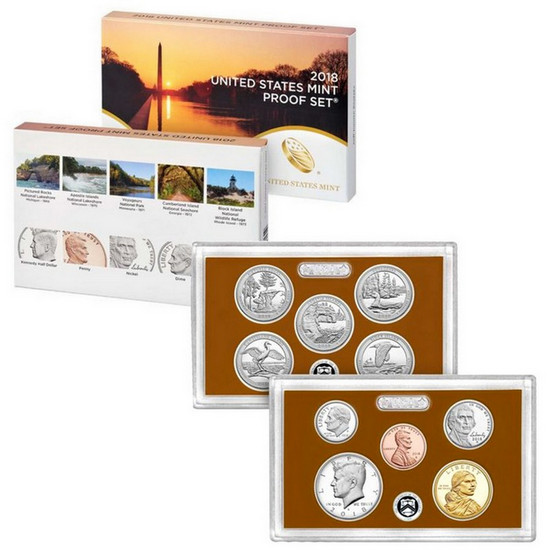 2018 S Untied States Mint 10pc Clad Proof Set