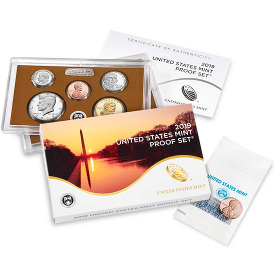 2019 S United States Mint 11pc Clad Proof Set