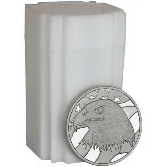Pledge of Allegiance 1oz .999 Silver Medallion 20pc