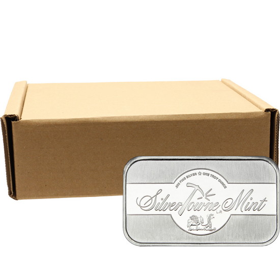 SilverTowne Mint 1oz .999 Silver Bar 500pc