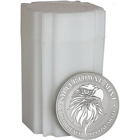 Mighty Eagle 1oz .999 Silver Medallion 20pc