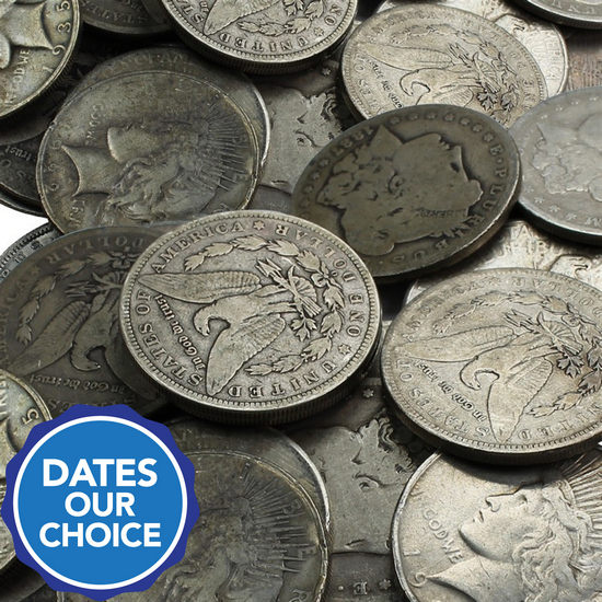 Cull Silver Dollars 100pc Dates Our Choice