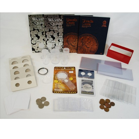 121 Piece Coin Supply Starter Set