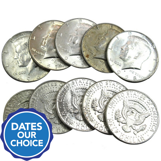 40% Silver Coins $5 Face Value