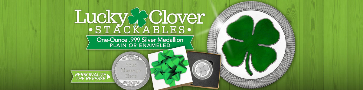 St. Patrick's Day 4-Leaf Clovers