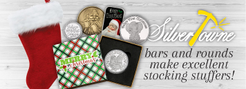 Christmas Silver Bullion Stocking Stuffers!