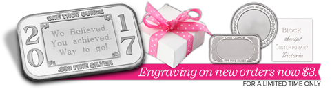 Weekend Offer $3 Engraving!