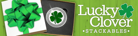 Lucky 4-Leaf Clovers for St. Patrick's Day