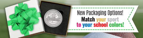 Sports Silver Bullion - Match Your School Colors!