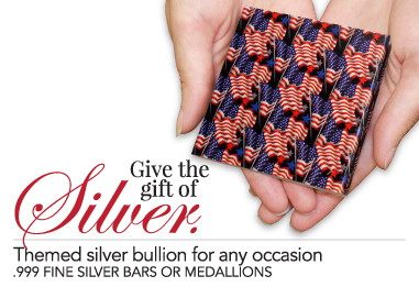 Patriotic Themed Silver Gift Ideas